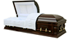 STATESMAN order from china direct american wood veneer coffin