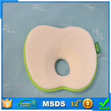 Infant Headrest Prevent Flat Round Memory Foam Baby Pillow