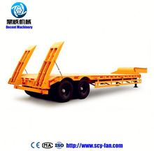 Liangshan Sitong 40 feet container flatbed flat bed semi trailer for sale
