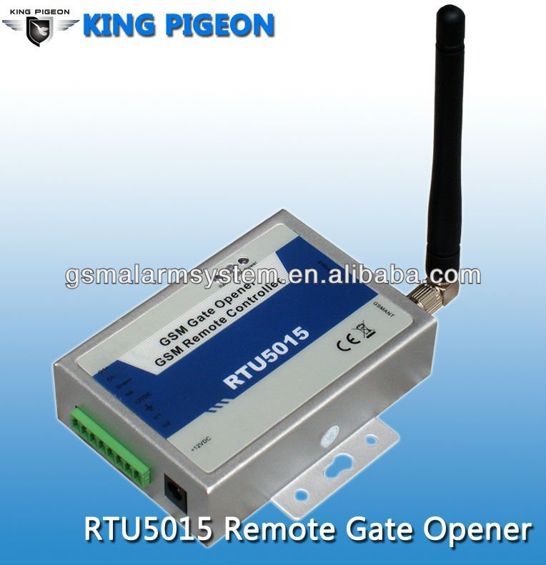 GSM Gate Door Opener Operator with SMS and free call, also connect with Water Level Detector