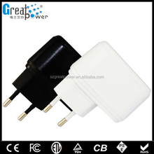 2014 best price with 1 year warranty great quality with certificate EU UK US AU plug 5v 2a usb power adapter
