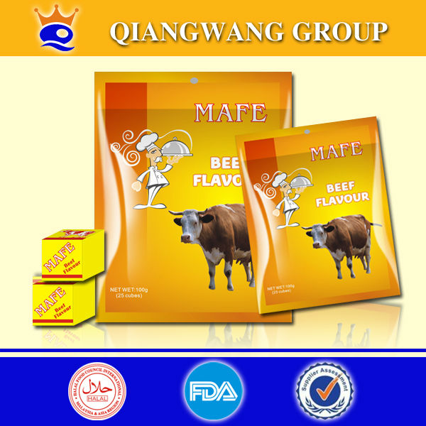 Bring good beef tastes , beef stock cube bouillon cube spice cube