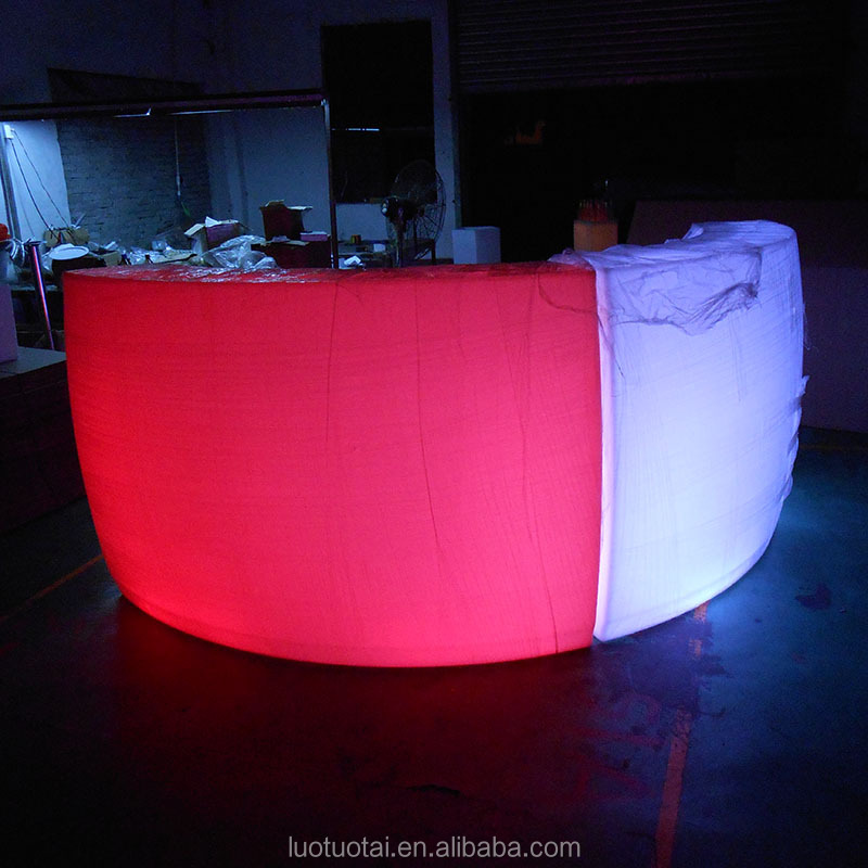 New design portable commercial led bar counters new design amazing led bar counter drink bar counter LTT-BC12