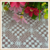 Cheap wholesale cotton crochet lace fabric chemical lace embroidery fabric white attractive design lace fabric