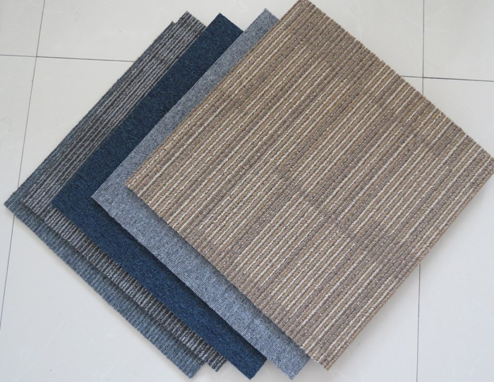 best selling products fire retardant carpet tiles square 50*50 for shop