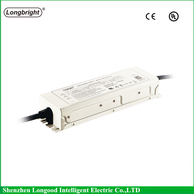 5 year warranty 4700ma 200w dimmable constant current waterproof led power supply for outdoor lighting