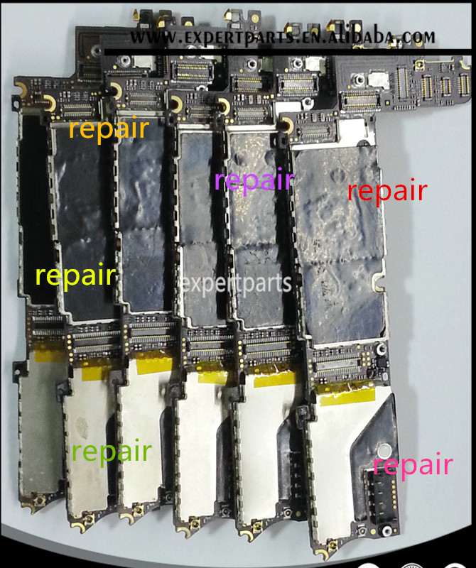 logic board Repair servive for ipad iphone 4 4s 5 5s 6 6s 6plus all model mainboard