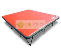 Double Wall Inflatable Camping Mat (12cm T) with no rolling or shaking.