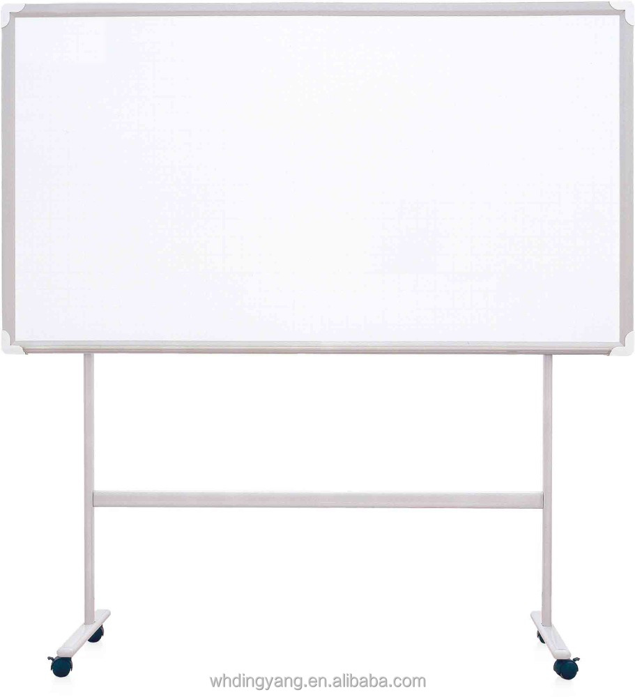 Quality whiteboard flipchart movable whiteboard