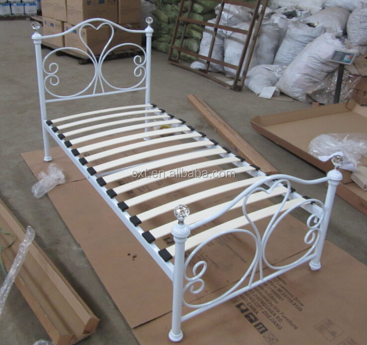 Bazhou the reasonable price, strong, knocked down single metal bed