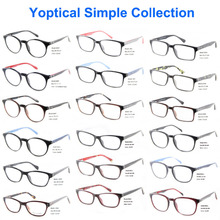Wholesale Eye Wonder Women Men Handmade Cellulose Acetate Classical Vintage Acetate Frame Glasses Ready in Stock Myopia Glasses