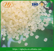 Manufacturers direct sales light yellow EVA hot melt glue pellets for paper box/case packaging