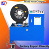 high pressure FY-102 Lima Hose Crimping machine price /Peru hose crimping machine supplier