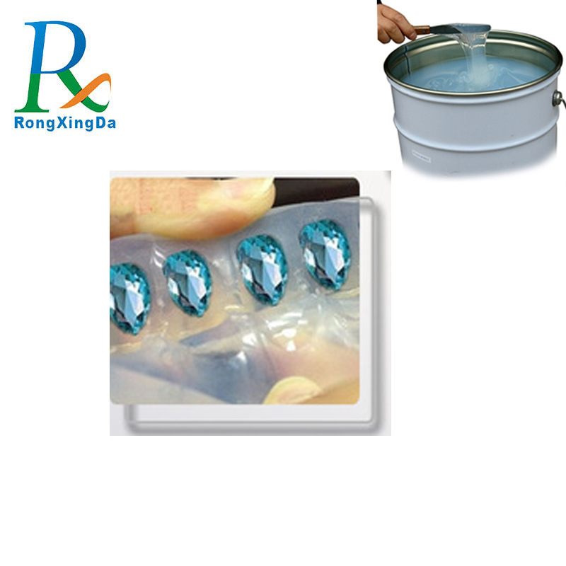 Transparent molding silicone rubber raw material for jewelry reproducing