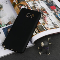 Waterproof Candy Color Phone Case For Samsung Galaxy Note 5 Mobile Back Cover