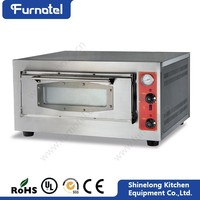 2016 Commercial Bakery Equipment 1-Layer 1-Tray Gas Pizza Dome Oven