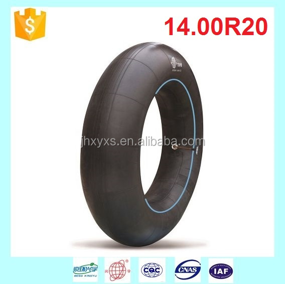 Industrial Vehicle Inner Tube Tire 14.00R20