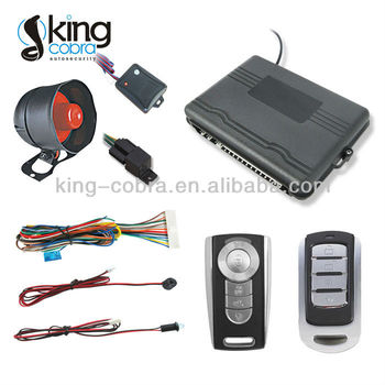 remote car alarm system for Thailand, Maylasia, Indonesia, Vietnam, Cambodia and so on built in central locking relay 13pin