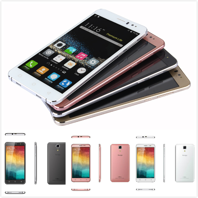 6 inch IPS 960*540 Android 5.1 1GB+8GB Smartphone Two Camera 3G Lte Calling Mobile Phone Unlocked Cellphone