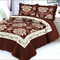 Cheap Embroidery Printed Microfiber Quilt Patterns, Quilt Bedspread Patterns