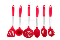 Amazon best seller high quality food grade silicone kitchen cooking tools, utensil utensil set