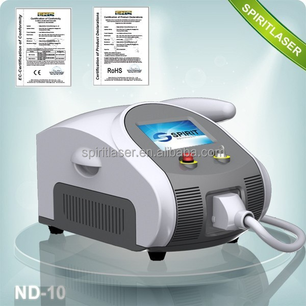 Best Air Cooling 1064 nm 532nm nd yag laser/q-switch nd yag laser machine/q switched nd yag laser tattoo removal
