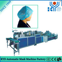 2016 new disposable non-woven bouffant cap making machine for doctor and nurse