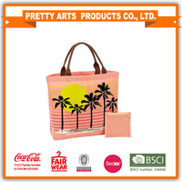 BSCI Factory Audit 4P women beach tote bag for wholesale