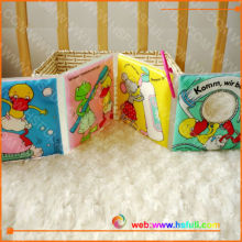 Washable baby soft book for education