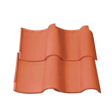 S1 unglazed natural red german monier concrete roof tile