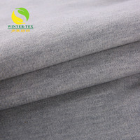 100 cotton fleece fabric jersey pique interlock fabric for polo shirts