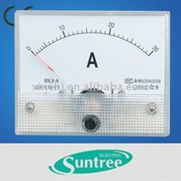 69L19 analog panel meter 80*65mm AC/DC ammeter voltmeter Frequency Hz power kw power factor COS