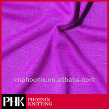 Combed Cotton Polyester Slub Knitting Fabric