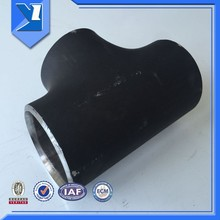 ASME B16.9 ISO9001 Carbon Steel reducing tee dimension