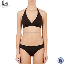 Hot selling womens black micro beautiful sexy mature bikini