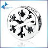 SCC069 Factory custom series snowflake christmas charms