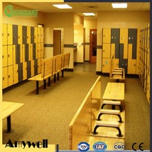 Amywell 2017 New Arrival Matte Anti-UV Phenolic HPL Beach Locker
