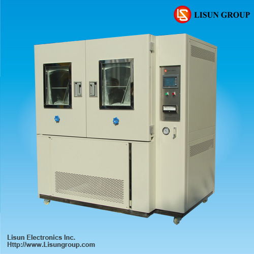 SC-015 sand and dust test chamber to do IP5X and IP6X dust measurement applied in LED lighting industry