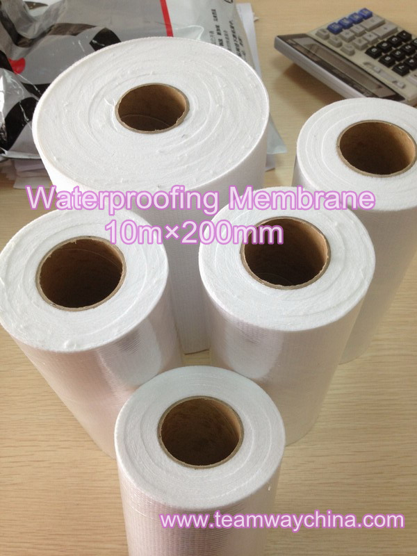 Recycled Polyester (RPET) Waterproofing Stitchbond Nonwoven Mambrane to South Africa