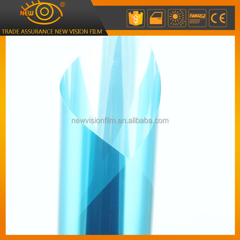 Explosion Proof Building Blue Mirror Window Tint For Building