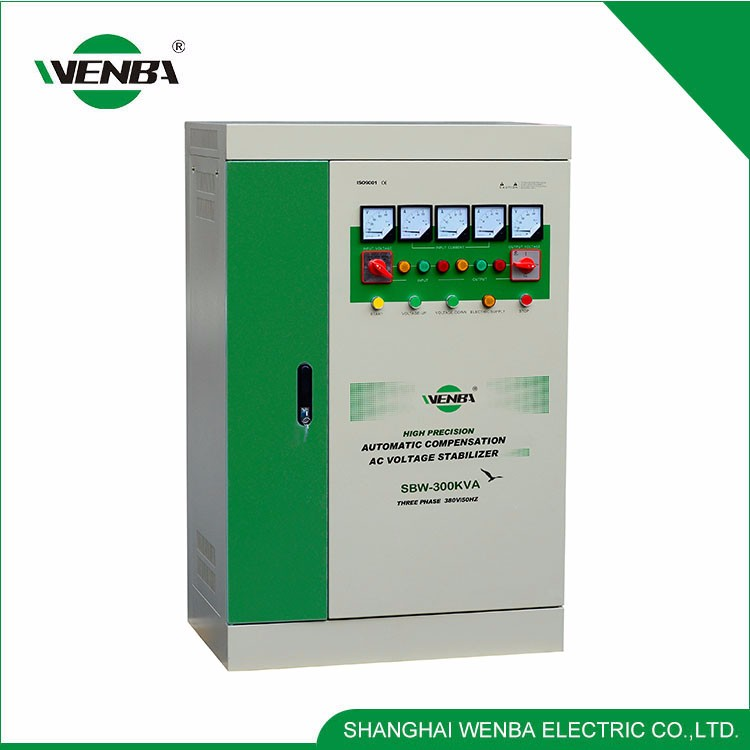 High Technology Competitive Price Multipurpose Power Saver Voltage Stabilizer 300Kva