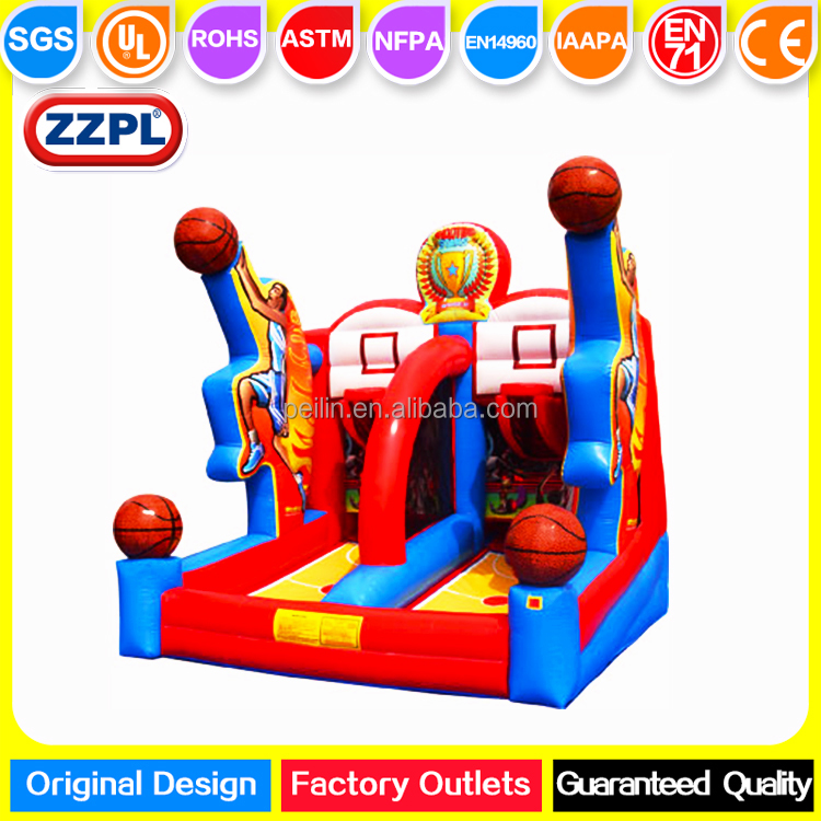 ZZPL Shooting Stars Basketball Shootout, Giant Inflatable Basketball Hoops for sale