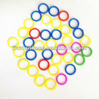 Colorful silicone rubber band,soft silicon o ring