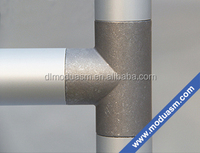 aluminum 45 degree elbow/90 degree aluminum elbow for stair and maintenance plaform