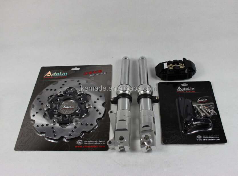 Ruckus Front Fork Kits Caliper Rotor Low Down Front Fork For Modified Honda Ruckus