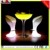 Party illuminated led light cocktail bar table with remote control