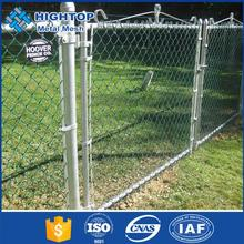 Popular house garden decoration cheap used chain link fence wire for sale