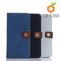Concise style full cover protect leather phone case