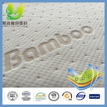 Alibaba China Raw Materials Bamboo Fiber Jacquard Mattress Ticking Cloth
