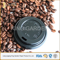 BSCI Supplier of Single Wall 80mm Hot Latte Cup Lids
